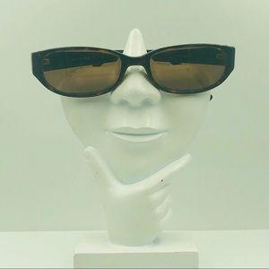 Anne Klein AKS129 Tortoise Oval Sunglasses Frames